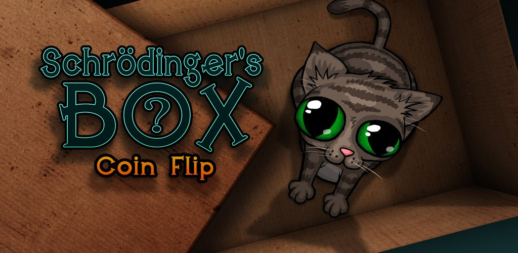 Schrodinger's Box Coin Flip Mobile Game