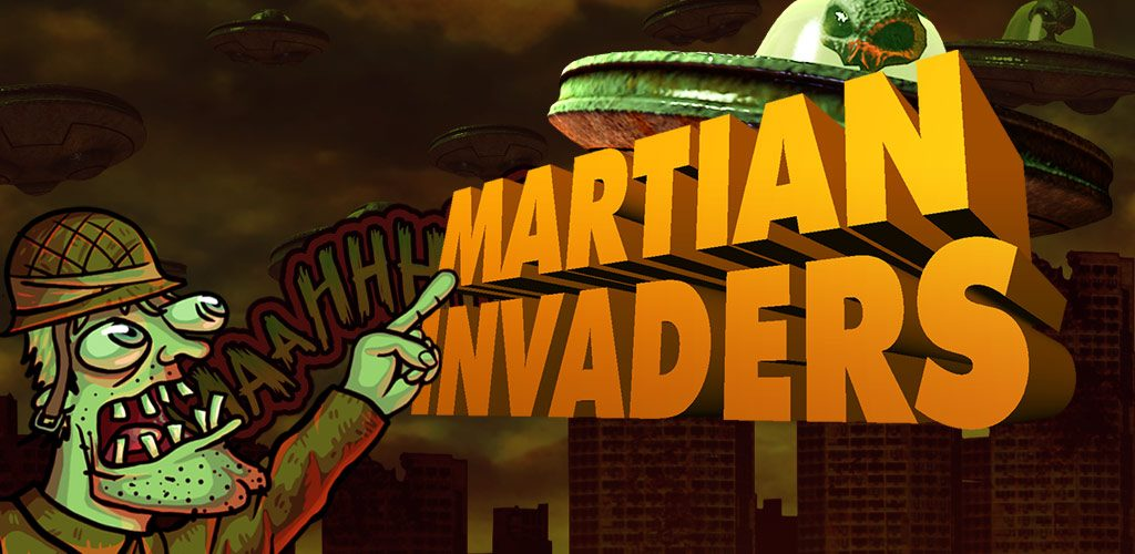 Martian Invaders Mobile Game