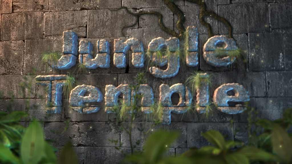 Jungle Temple After Effects Template