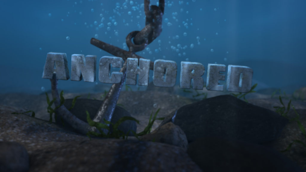 Anchored - Undwerwater Logo Stinger After Effects Template