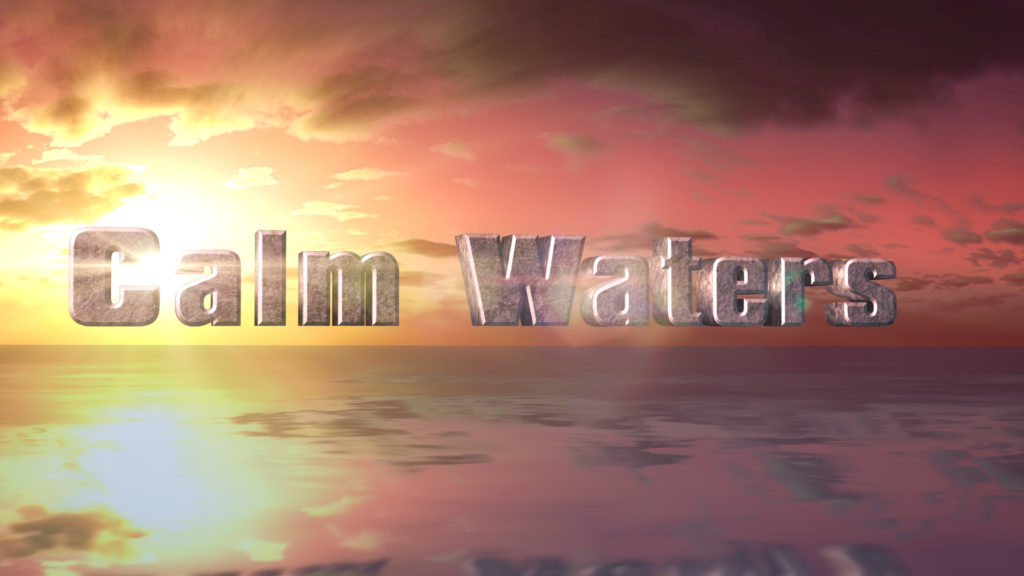 Calm Waters - Logo Reveal After Effects Template