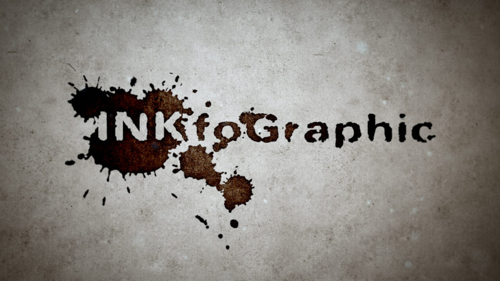 After Effects Template: INKfoGraphic - Ink Blots Intro