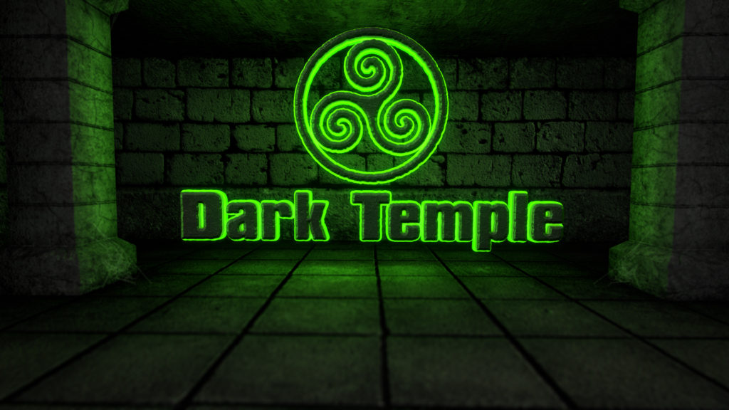 Dark Temple - A Pyramid's Ancient Corridors After Effects Credits Template