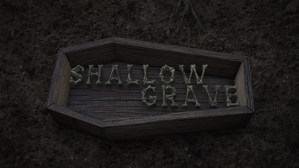 Shallow Grave and Underground Logo Stinger Halloween After Effects Templates
