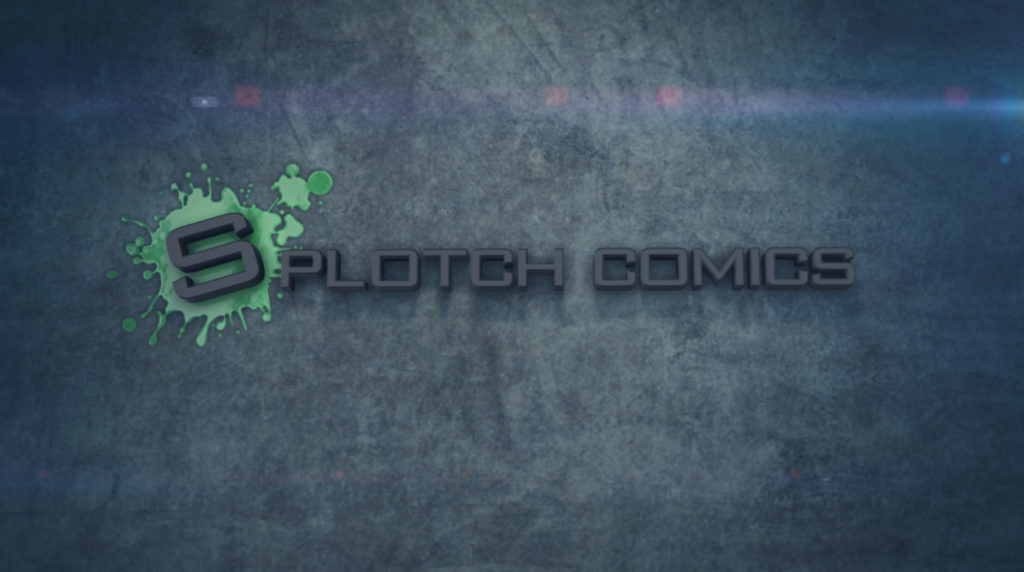 Splotch Comics Motion Graphics Logo Intro