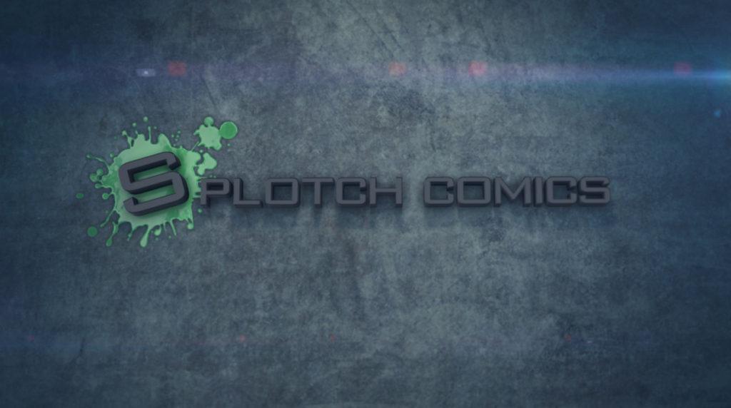 Splotch Comics Motion Graphics Logo Intro