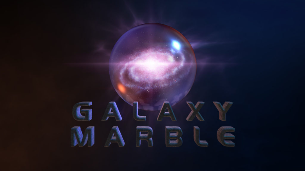 Galaxy Marble logo reveal After Effects template