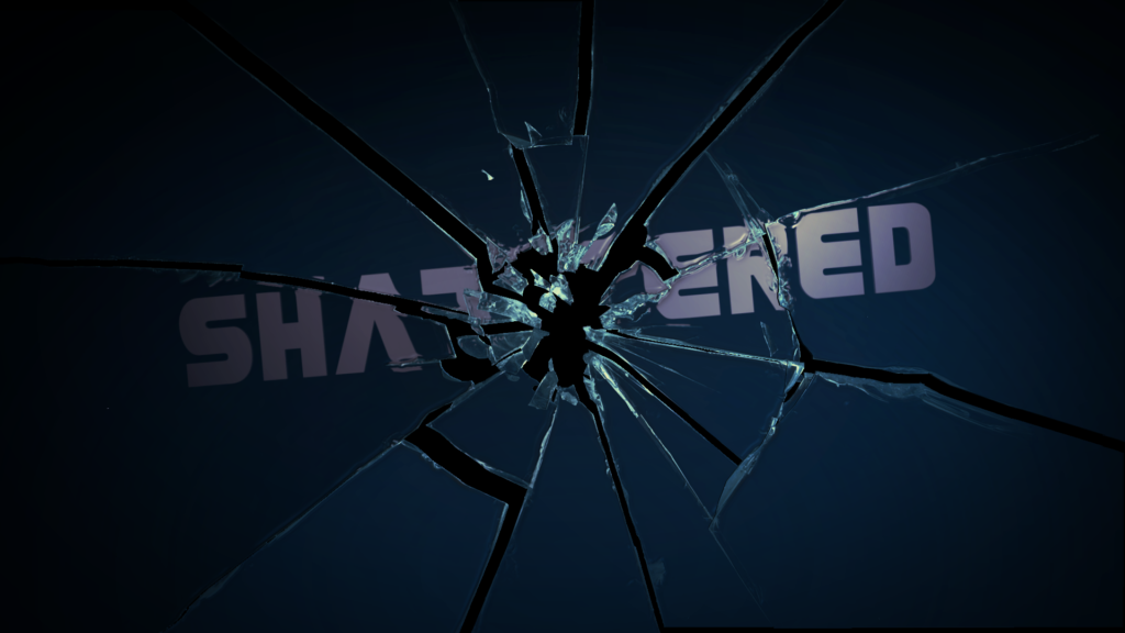 After Effects Template: Procedural Shattered Glass template