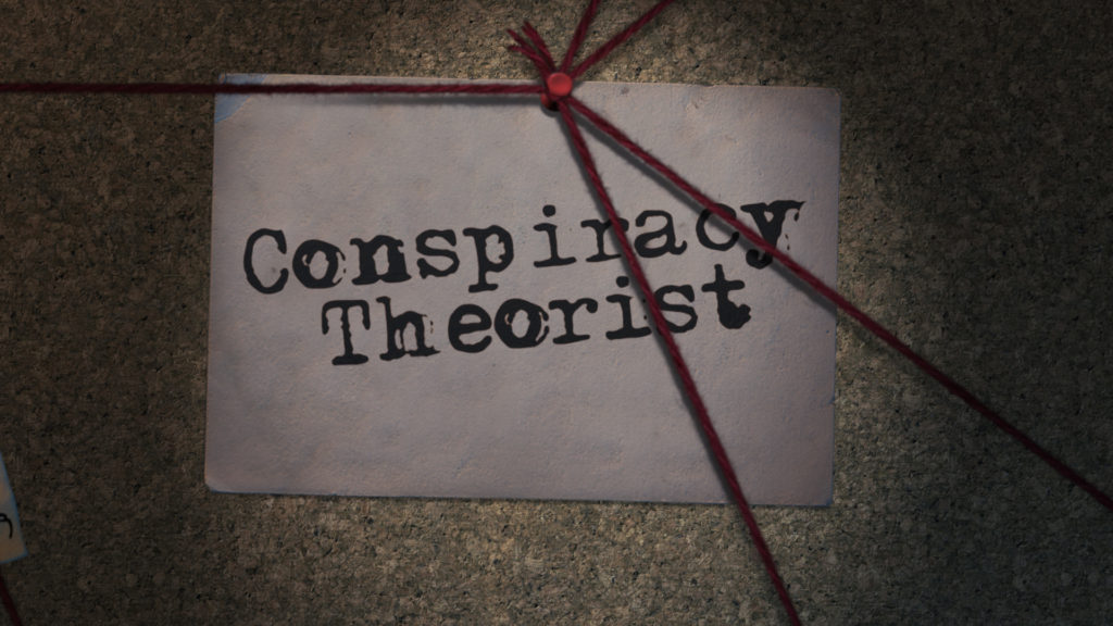 The Conspiracy Theorist: Conspiracy Cork Board After Effects Template