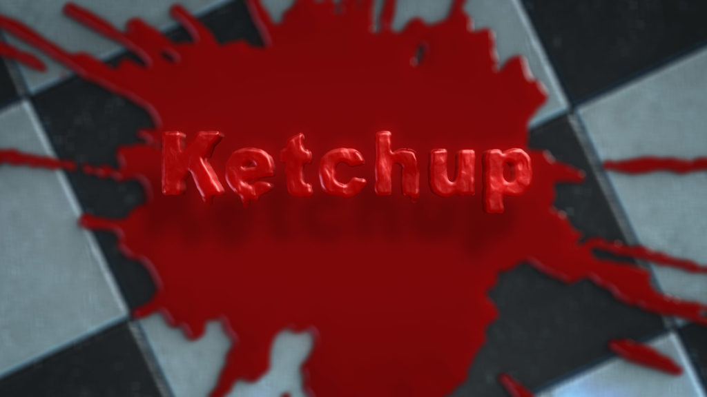 Logo Reveal After Effects Template: Ketchup, Fluid Splat and